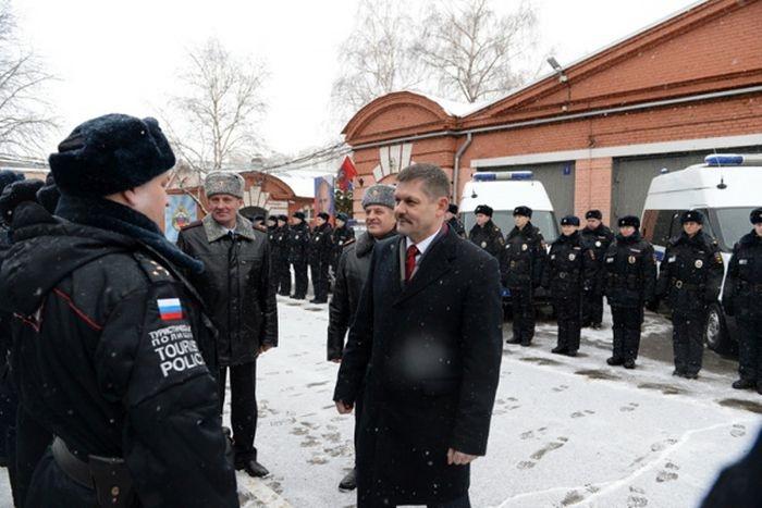 Москва: появилось новое отделение «туристической полиции» (4 фото)