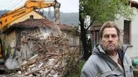 Отчаявшийся житель Болгарии весьма оригинально вернул банку заложенный дом (2 фото)