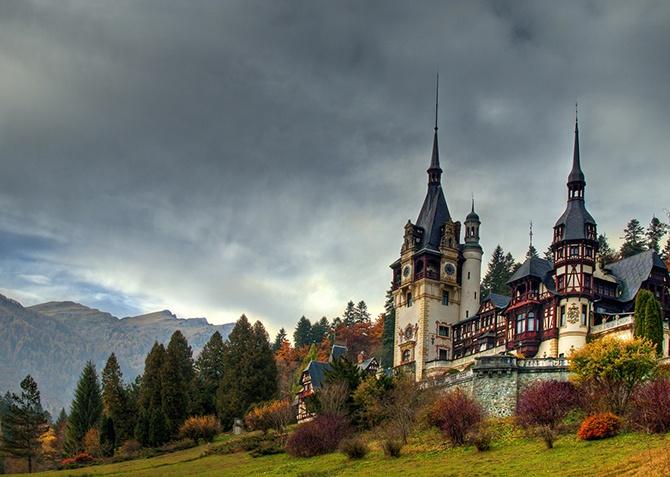 Самые интересные замки Румынии (11 фото)