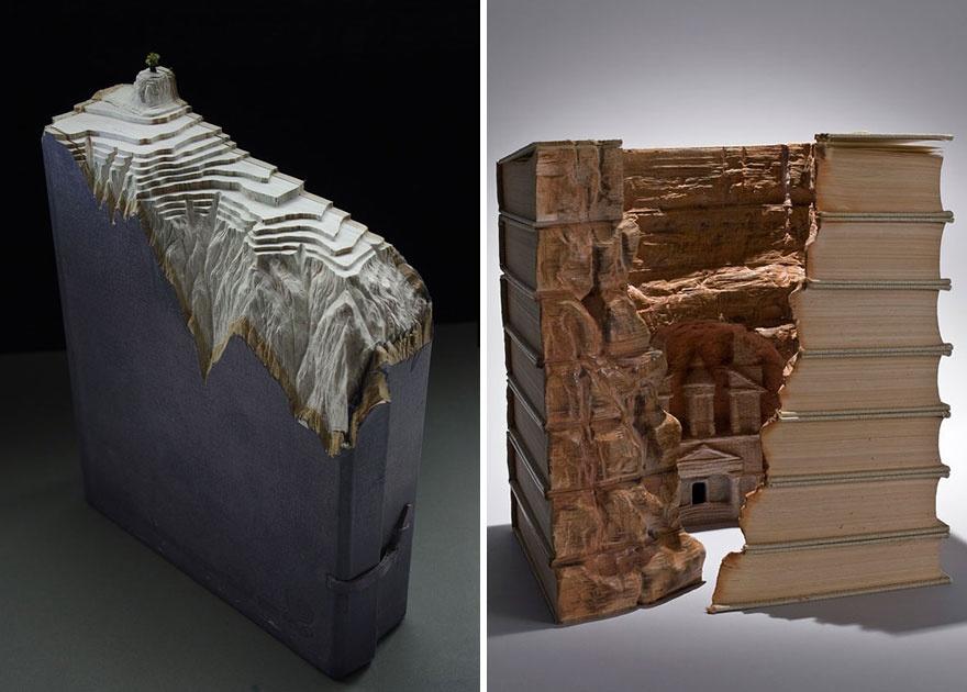 Лучшие книжные скульптуры (5 фото)