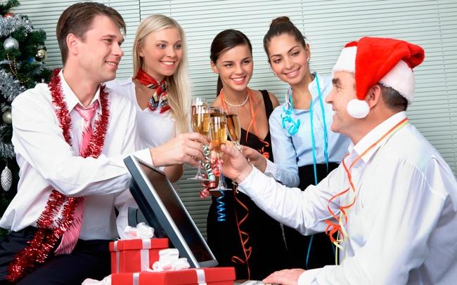Корпоративный Новый год (4 фото)