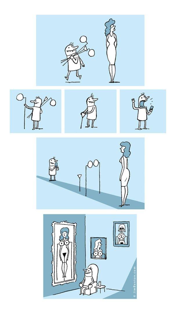 Смешные комиксы 29.12.2014 (17 картинок)