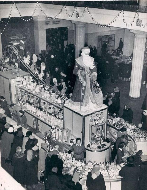 Как праздновали Новый год в 1950-х (17 фото)