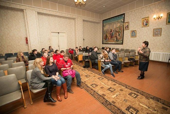 Фотоотчет о посещении Бежецкой школы-интерната (40 фото)
