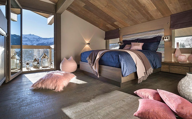 Восхитительное шале Mont Blanc во Франции (24 фото)