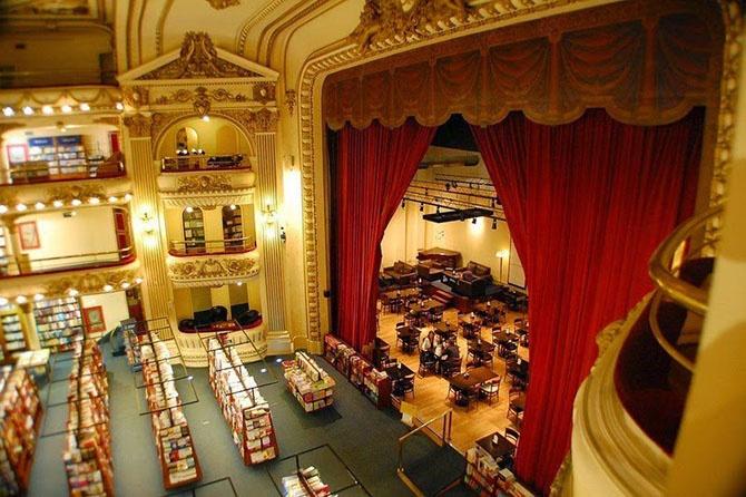Как выглядит самый красивый книжный магазин (13 фото)