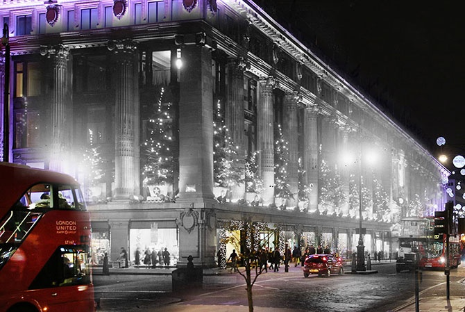 Рождество через призму времени (11 фото)