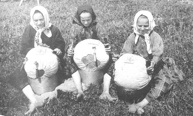 Как на Руси отличали девицу от мужней жены (8 фото)