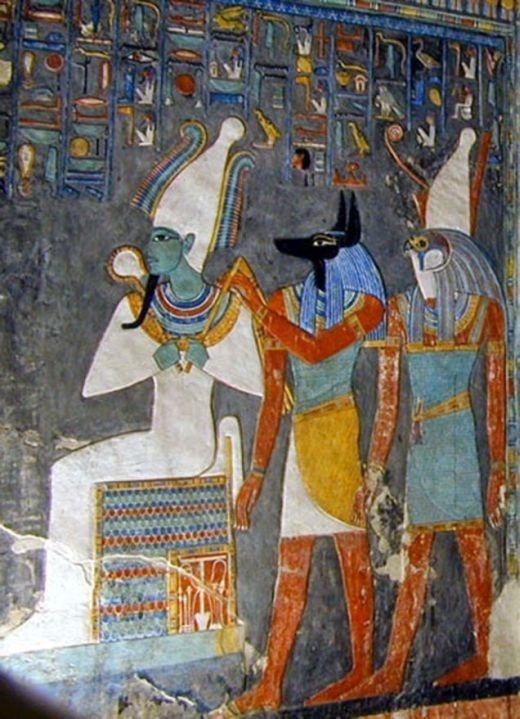 Египет: найдена гробница царя загробного мира Осириса (7 фото)