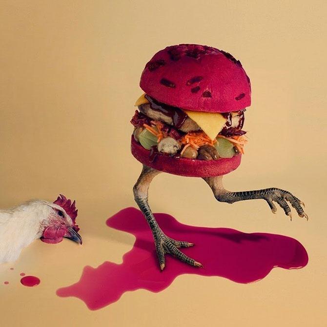 Оригинальные бургеры в проекте Fat & Furious Burger (18 фото)