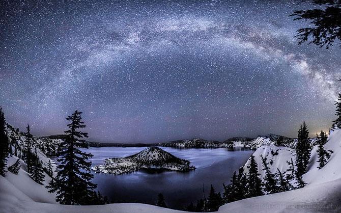 Ясное небо без подсветки (15 фото)