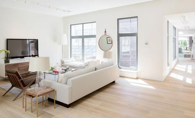 Нью-йоркская квартира Дженнифер Лопес (8 фото)