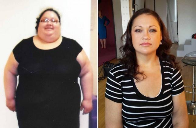 Удивительное превращение толстухи в прелестную стройняшку всего за один год (3 фото)