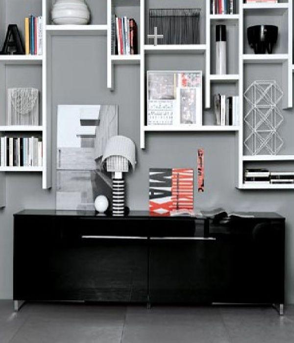 Великолепные идеи дизайна современных полок (33 фото)