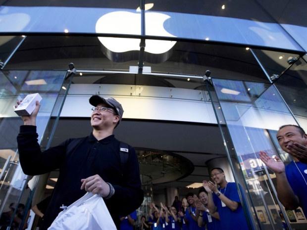 В Китае похитили крупную партию iPhone 6, сделав подкоп к складу Apple (1 фото)