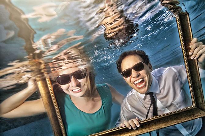 Подводная фотосессия (30 фото)