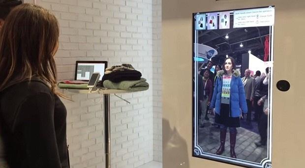 Toshiba создала виртуальную гардеробную (1 фото + 1 видео)