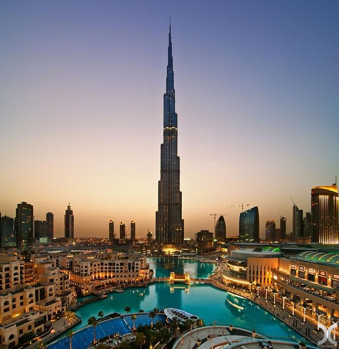 Восхитительные виды Дубая (33 фото)