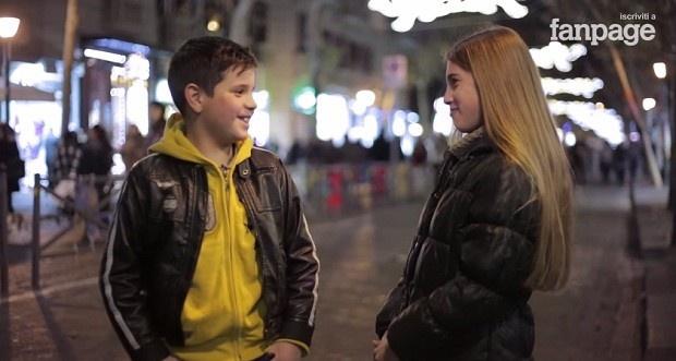 Если мальчиков попросить ударить девочку (1 фото + 1 видео)