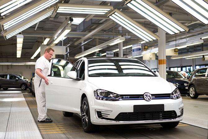Как делают автомобили Volkswagen (21 фото)
