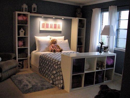 20 блестящих идей для маленькой спальни (20 фото)