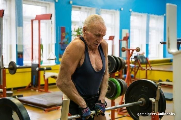 Беларусь: Виктор Ершов - самый спортивный пенсионер страны (18 фото)