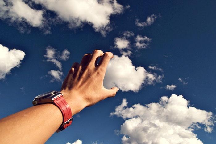 Облака и немного фантазии (17 фото)