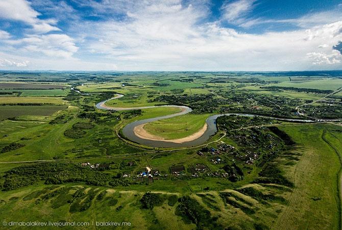 Земля с квадрокоптера (29 фото)