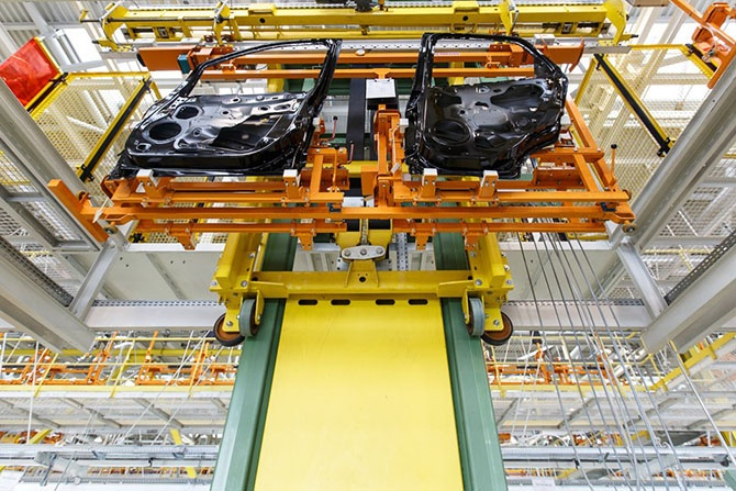 Как собирают автомобили Ford в Татарстане (45 фото)