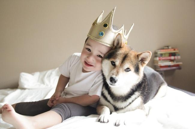 Почему каждый ребенок должен расти с собакой (12 фото)