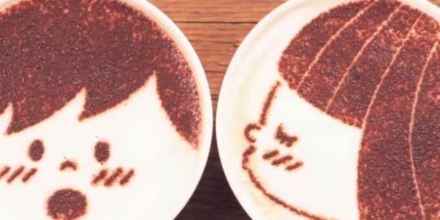 Кофе-арт (1 фото + 1 видео)