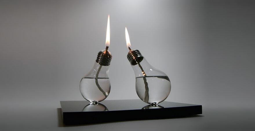 20 отличных идей отслуживших свой век ламп накаливания (20 фото)