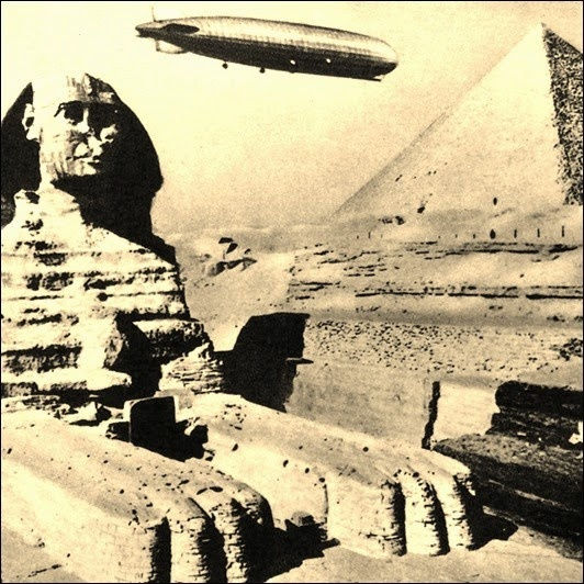 Загадки египетского Сфинкса (8 фото)