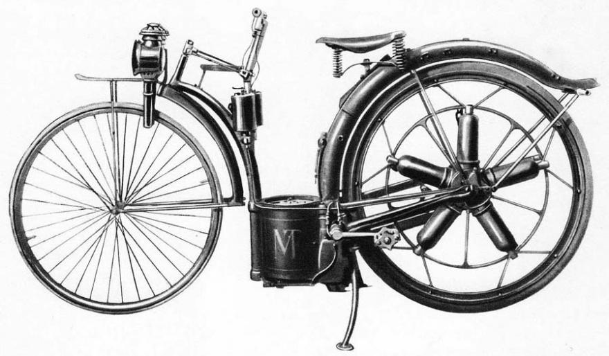 Как появились мотоциклы (3 фото)