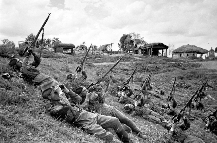 Чем наши деды побеждали немецких асов.