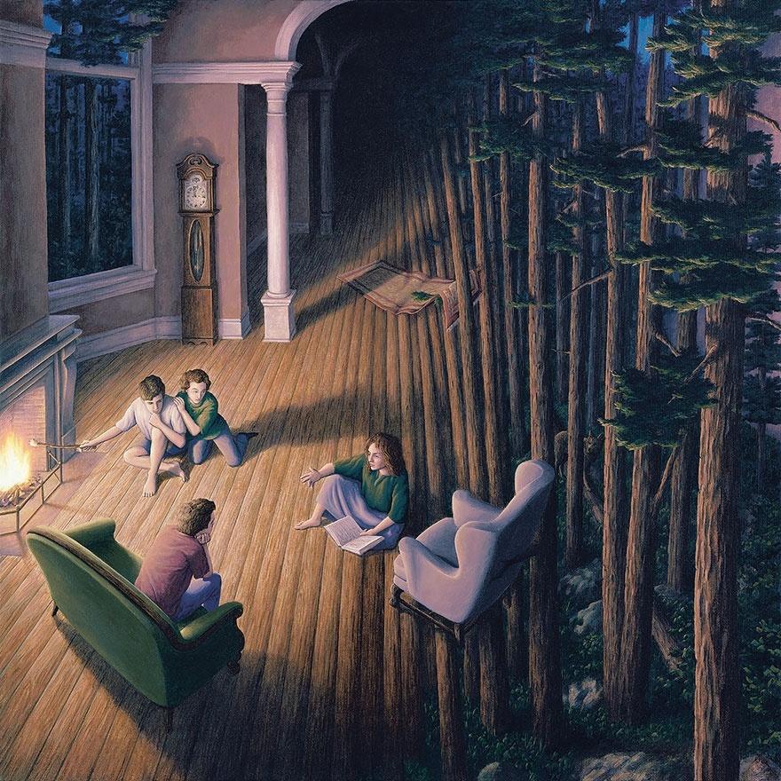 Мир иллюзий Роба Гонсалвеса (25 картинок)