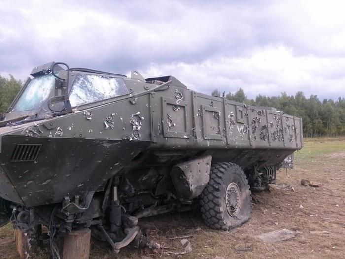 «Тайфун» - новый бронетранспортер российской армии (10 фото)