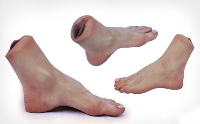 Секс-игрушка для поклонников женских ступней (4 фото)
