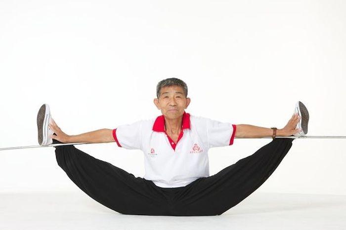 Отличная физическая форма в пожилом возрасте (27 фото)