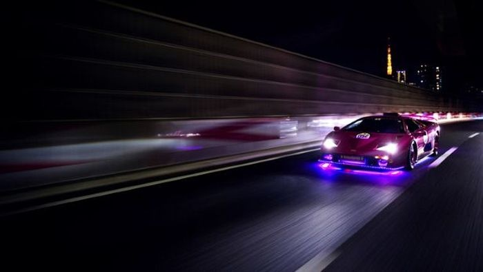 Фото и видео со съезда японских любителей эксклюзивных суперкаров Lamborghini (видео и 23 фото)