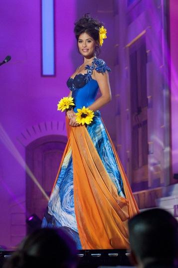 Девушки на конкурсе Мисс Вселенная
