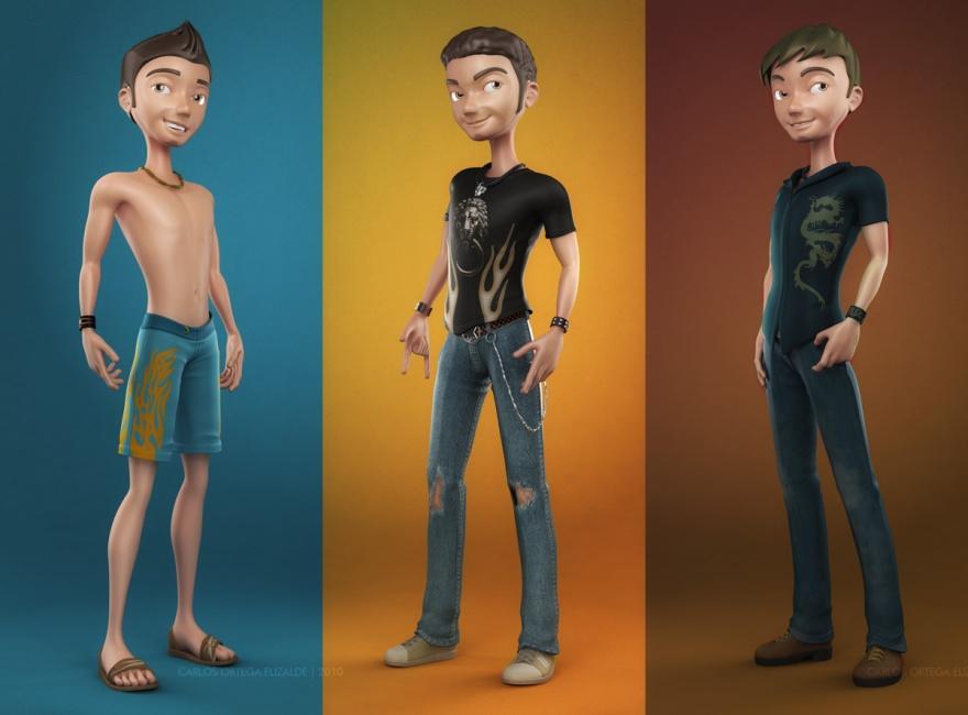 Классные 3D-картинки Карлоса Ортеги Елизальде (63 картинки)