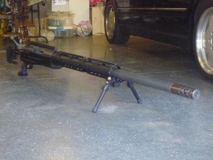 Самая мощная и самая опасная снайперская винтовка в мире (4 фото)