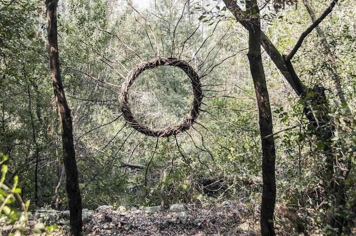 Творчество в лесу
