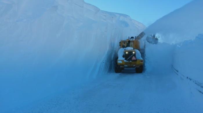 Необычная норвежская дорога (6 фото)
