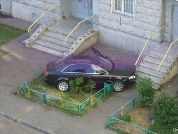 Подборка классных автоприколов (31 фото)