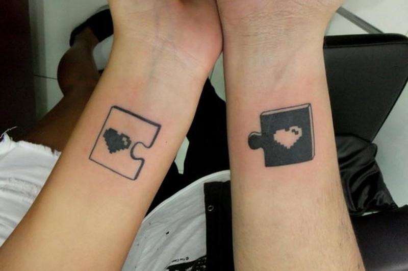 картинки тату пары