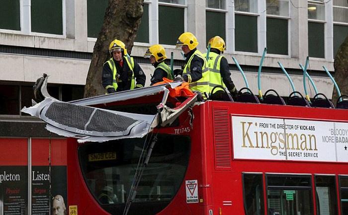 Опасности двухэтажного автобуса (14 фото)