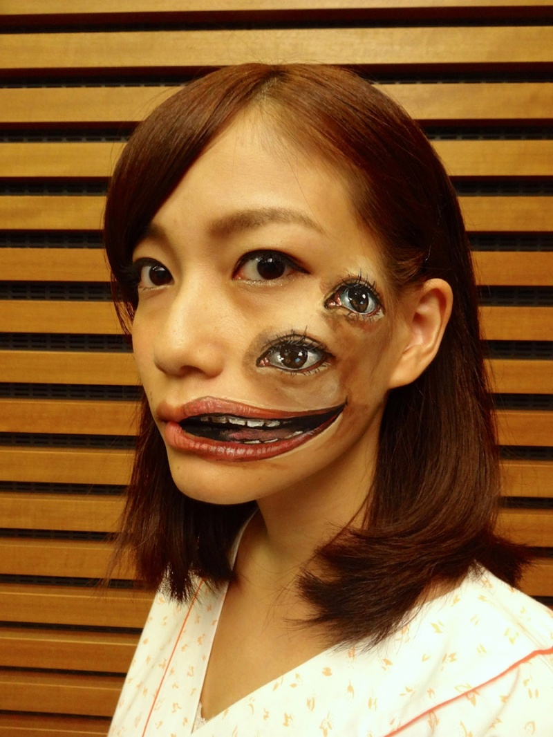 Боди-арт от японской художницы