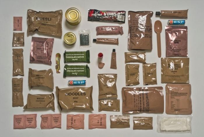 Что едят солдаты в разных странах